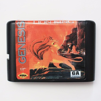 The Lion King - Sega Mega Drive For Genesis