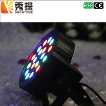 hot deal buy high quality 18 led par stage light led rgb dmx 512 7ch mini par led lighting for club dj show home party