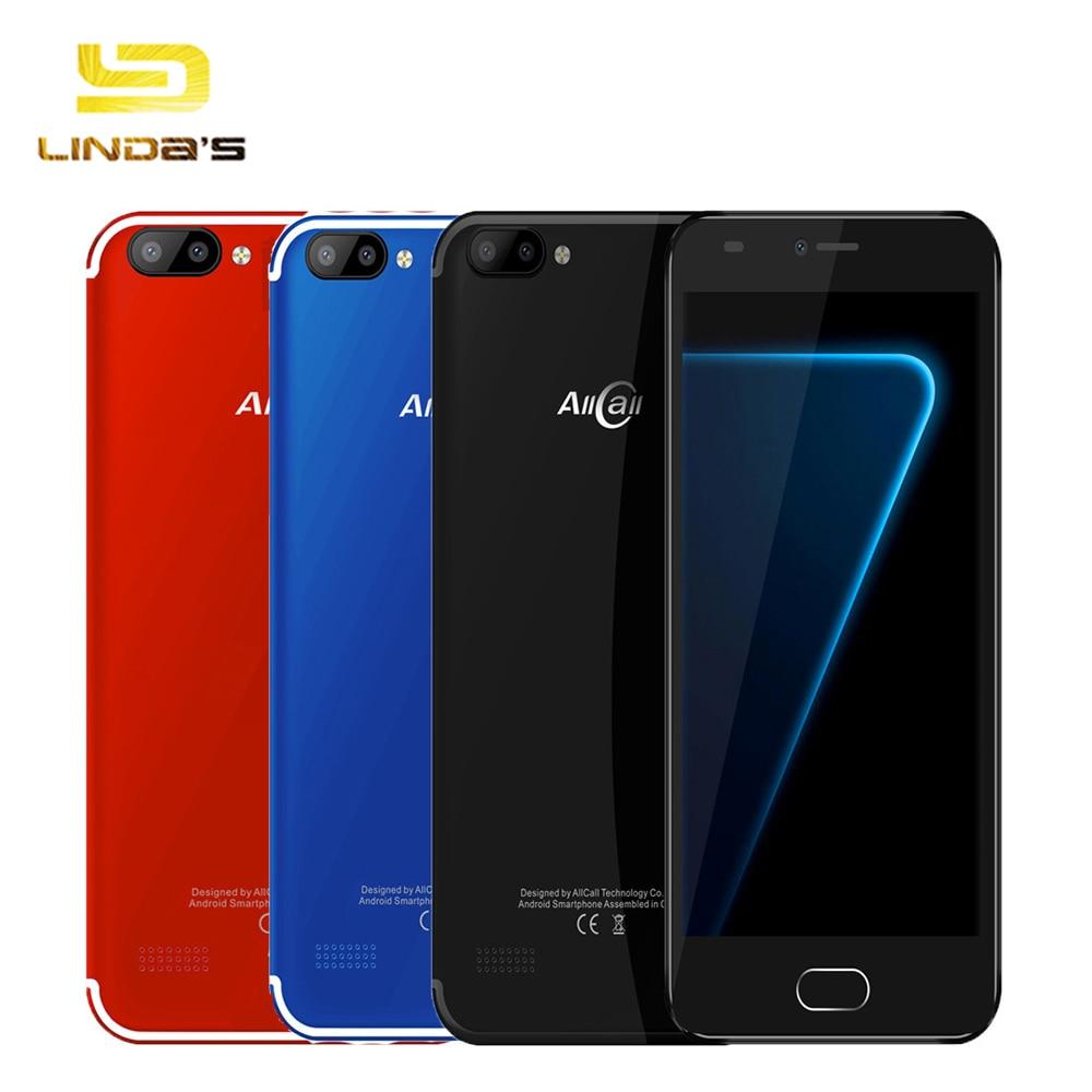 Original AllCall Alpha 3G WCDMA Smartphone Android 7.0 5.0