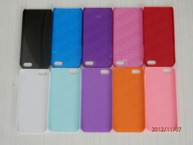 Heat transer blank sublimation mobile phone case, suit for iphone 5/5S