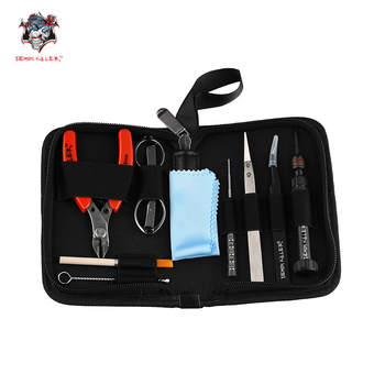 Demon Killer Vape Tool Kit Electronic Cigarette DIY Accessory for Mech RDA RTDA RTA Atomizer Tweezers All-in-One Vaporizer