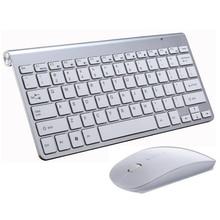 Mini ensemble de clavier souris bluetooth Portable  Combo