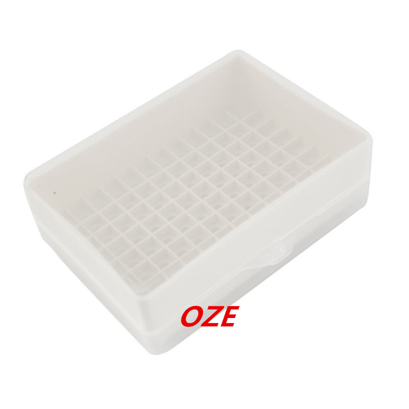 1PCS Laboratory 96 Positions 10uL Pipette Pipettor Tip Holder <font><b>Box</b></font> image
