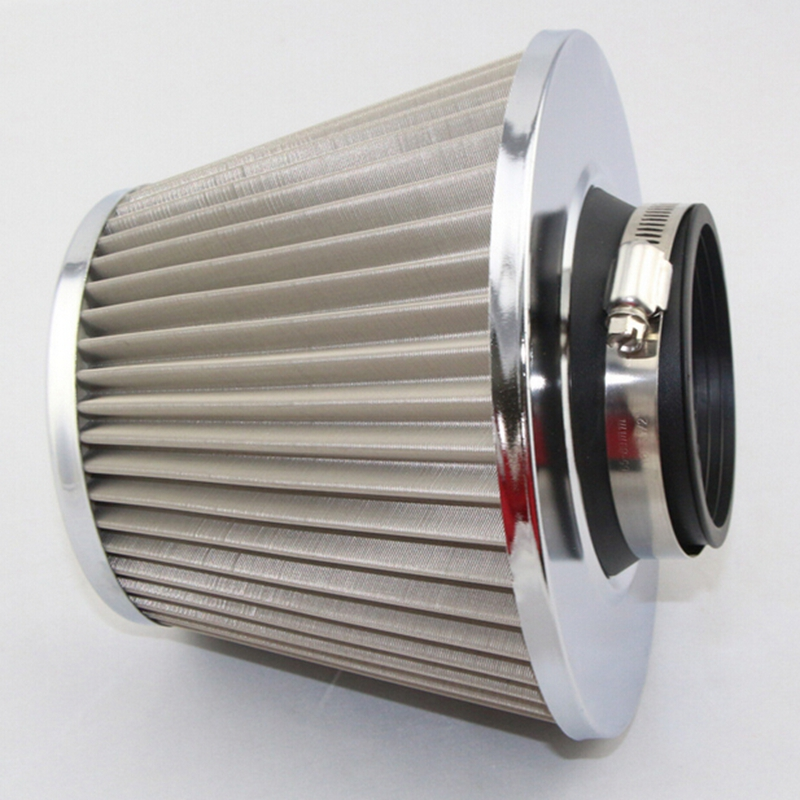 Car Air Cleaner Product ~ Universal auto vehicle car air filter cold intake