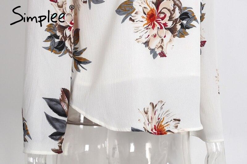 HTB1YkY2PXXXXXaMaFXXq6xXFXXX6 - Floral print off shoulder chiffon blouse Women tops halter cool