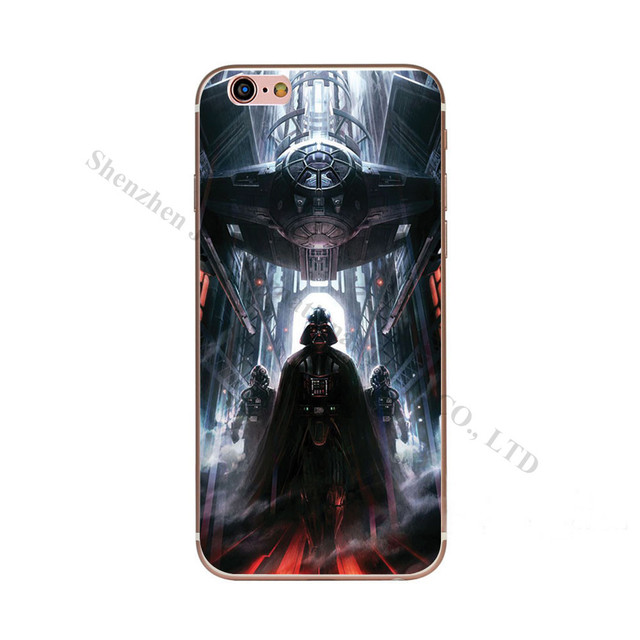 Star Wars Soft TPU Silicone Case Cover For Iphone (12 Styles)