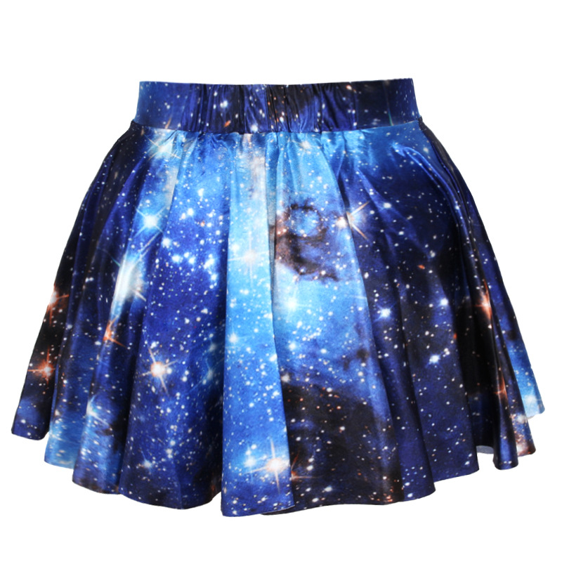 f22e800ccb Summer sexy Galaxy 3D Printed space print sleeveless crop top and skirts 2  piece set women Mini Skirt Tank Top Women Tracksuit -in Women's Sets from  Women's ...