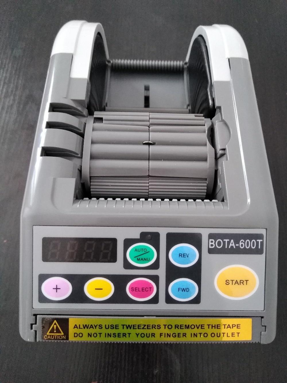BOTA-600Tマイクロコンピューター自動テープディスペンサー、カット幅最大60 mm