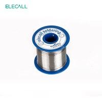 ELECALL Yeni Varış 63/37 Kalay 1.0mm 450g Rosin Çekirdek Kalay/Kurşun 1.0mm Rosin Rulo Akı Reel Kurşun Erime Çekirdek Lehim Kalay Lehim Teli