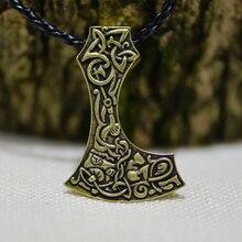 10PCS Norse Viking Axe Pendant based on the Mammen axe from Denmark Bearded Axe Vikngs Pendant