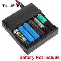TrustFire 6 Slots Smart Intelligent Battery Charger LED for 18650 18500 16340 14500 AA AAA Rechargeable Lithium NI MH Battery