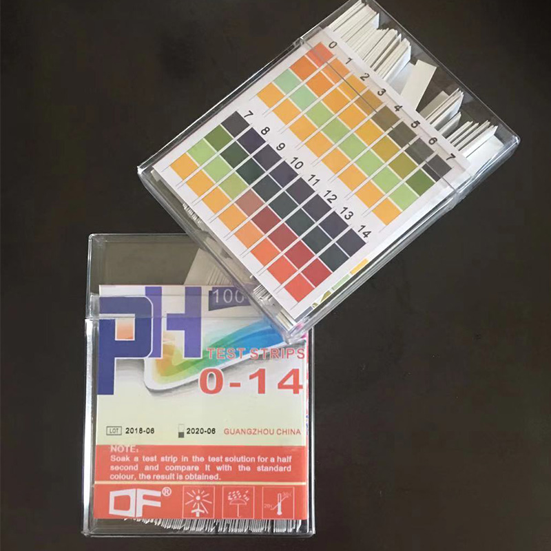 100 Pcs 0-14 Ph Test Lackmus Papier Universal Alkalische Säure Anzeige Papier Für Flüssigkeit Wasser Speichel Boden Aquarien Ph Tester Feine Verarbeitung