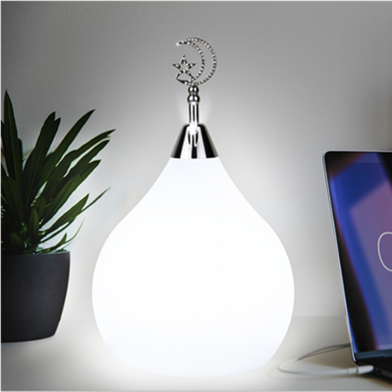 Water drops Home atmosphere lamp night light smart colorful memory remote control RGB + W bedroom living room decoration gifts free shipping remote control colorful modern minimalist led pyramid light of decoration led night lamp for christmas gifts
