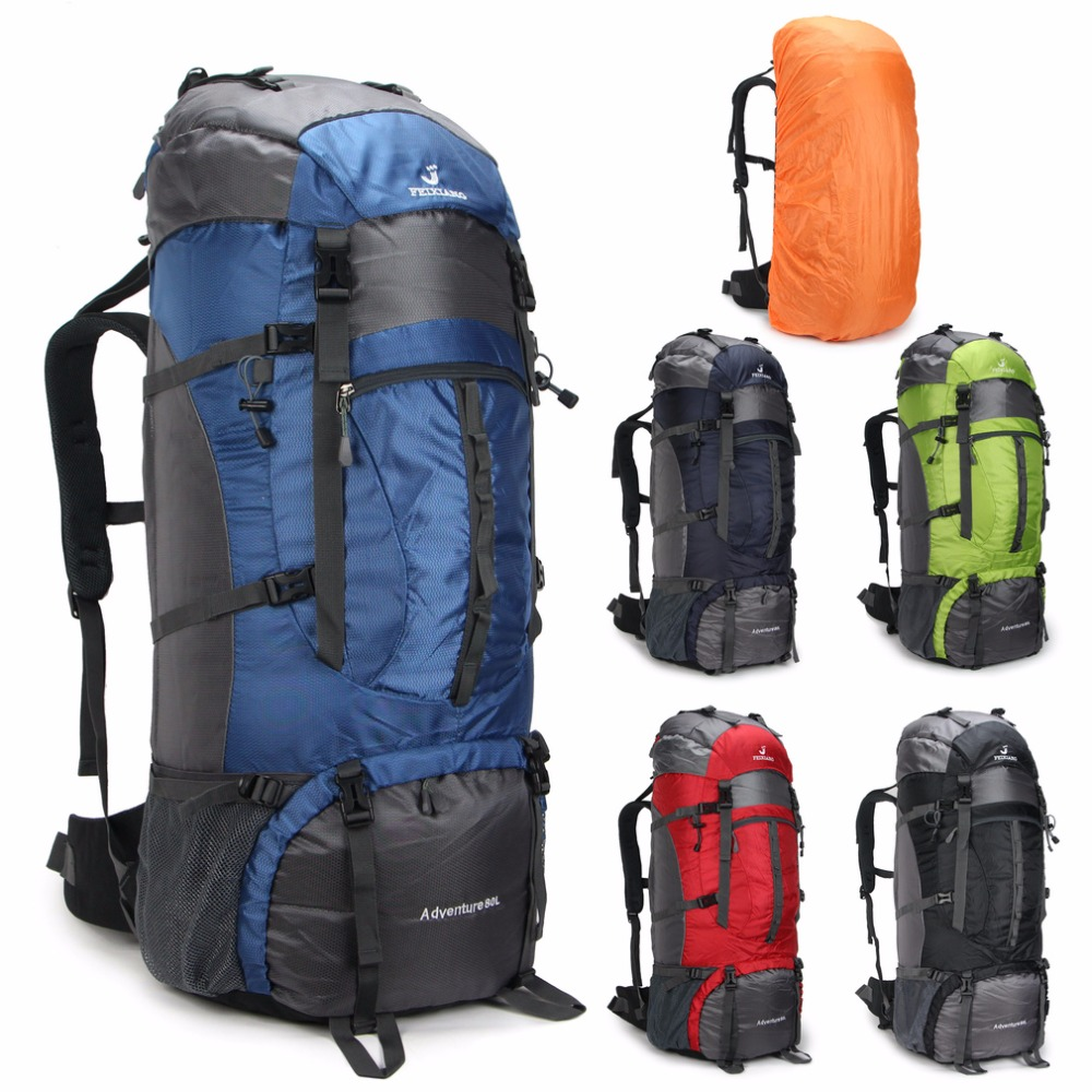 Aliexpress.com : Buy Large 80L Waterproof Military Backpack ...