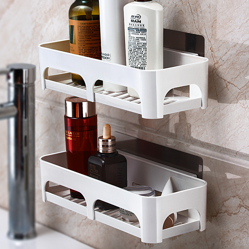 Bathroom articles and utensils shelf toilet washroom washstand bathroom shelf toilet without punching wall hanging two packages