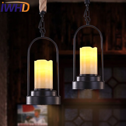 IWHD Loft Style Industrial Pendant Lights LED Iron Vintage Lamp Luminaire Suependu Retro Hanging Light Fixtures Luminaire iwhd vintage hanging lamp led style loft vintage industrial lighting pendant lights creative kitchen retro light fixtures