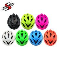 Fiets LED Helm 5 Kleuren MTB Racefiets Helmen Met Achterlicht 55-61 cm M L Cascos Ciclismo Fietsen helm Fluorescerende Groene