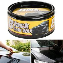 300 г полировка автомобиля воск краска Водонепроницаемый уход ремонт Стайлинг Кристалл твердый воск лак для удаления царапин губка для черного автомобиля