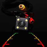 Car Rear View Camera Rearview Parking HD CCD Camera Wide Angle Waterproof Universal Parking Camera Reverse