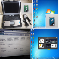 For BMW ICOM A2 With Newest ICOM A2 Software HDD V2017 09 Installed Toughbook CF19 Laptop