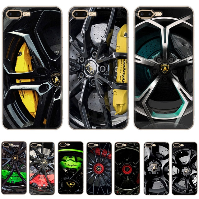 the best attitude 36d87 c3962 US $1.5 42% OFF|Aliexpress.com : Buy Desxz Lamborghini Case For iPhone 7 8  6 6s Plus X XR XS Max 5 5S SE Protection Cover Bag from Reliable Fitted ...