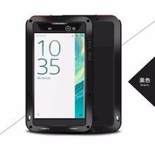 Gorilla Glass Powerful  Shockproof  Case For Sony Xperia XA1 Plus XA1 XA2 XA Ultra XA XA1 XA2 Phone Cases  Metal Aluminum  Cover стоимость