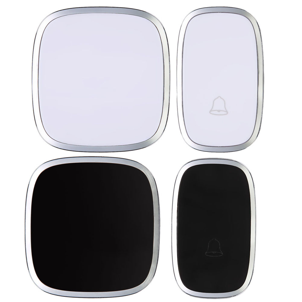 Waterproof Wireless Door Bell 36 Melody Home Smart Alarm + Push Button NG4S
