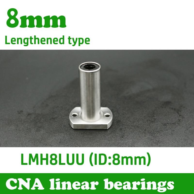 Heimwerker Freies Verschiffen Lmh8luu 8mm Lange Typ Flansch Linear Lager Cnc Linear Bush