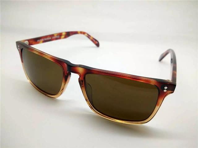 d33f493c64 Famous Women Brand Designer Sun Glasses Men Oliver Peoples Bernardo  Sunglasses OV5189 Unisex Glasses With Box