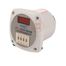 Digital display time relay JS11S two-position regulation 220V 380V 24V 36V110V dhc wenzhou dahua digital time relay js11s delay time of 0 1 seconds 99 9 hours