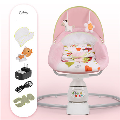 HTB1Ykb3djfguuRjy1zeq6z0KFXad Baby rocking chair baby safe electric cradle chair soothing the baby's artifact sleeps the newborn sleeping cribs