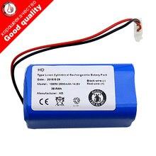 14.8V 2600mAh Batteria Ricaricabile per Chuwi ilife V7s V7s pro A4 A4s A6 robotica per ILIFE ecovacs cleaner parti di v7s più