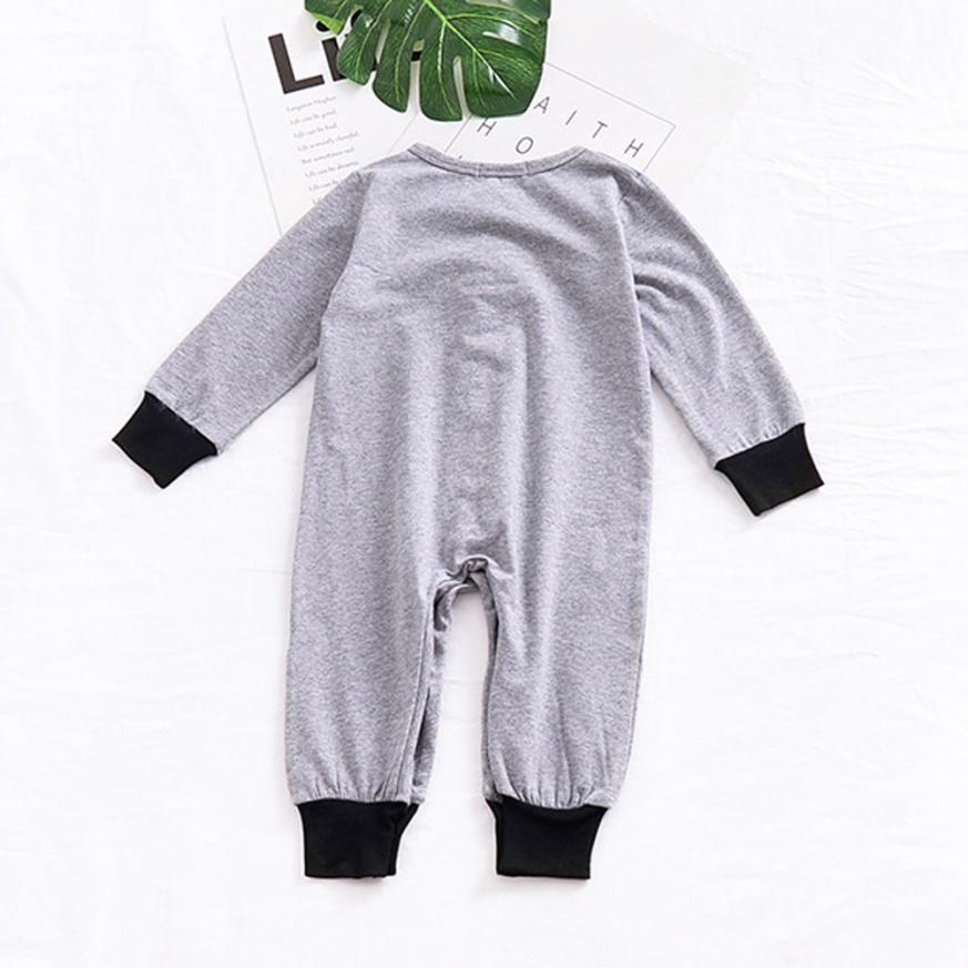 2018 для новорожденных для маленьких мальчиков с длинным рукавом, комбинезон одежда удобная и дышащая 5,30
