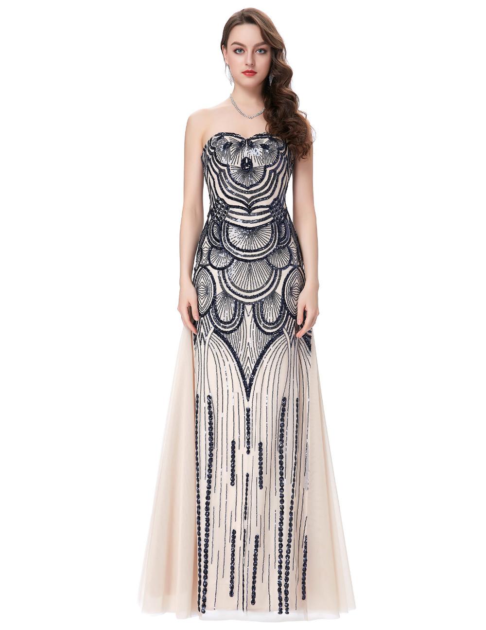 HTB1YkbZKFXXXXX9XVXXq6xXFXXX0Strapless Special Occasion Dress