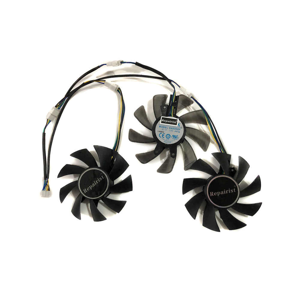 3pcs/set GPU Cooler For kuroutoshikou GF-GTX980Ti-E6GB/HOF Galax GTX 980  HOF KFA2 GTX980TI LN2 GOC VGA Graphics Card Cooling