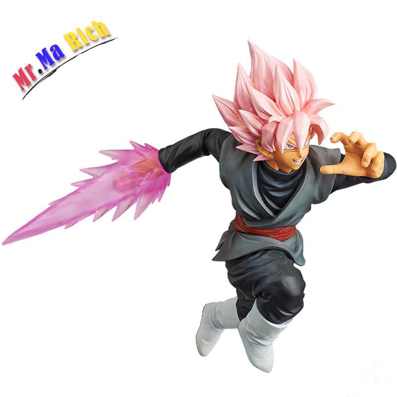 Dragon Ball Super Goku Figura Nera Combattimento Versione Saiyan Roze Gokou Pvc Nero Action Figures Toy San Valentino Regalo