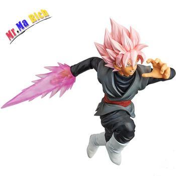 Dragon Ball Super Goku Figurativo Nera Combattimento Versione Saiyan Roze Gokou Pvc Nero Action Figures Giocattolo San Valentino Regalo