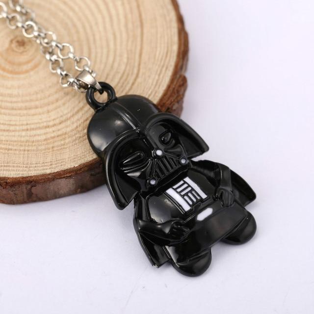 Star Wars Darth Vader Necklace Men Women Pendant Collier