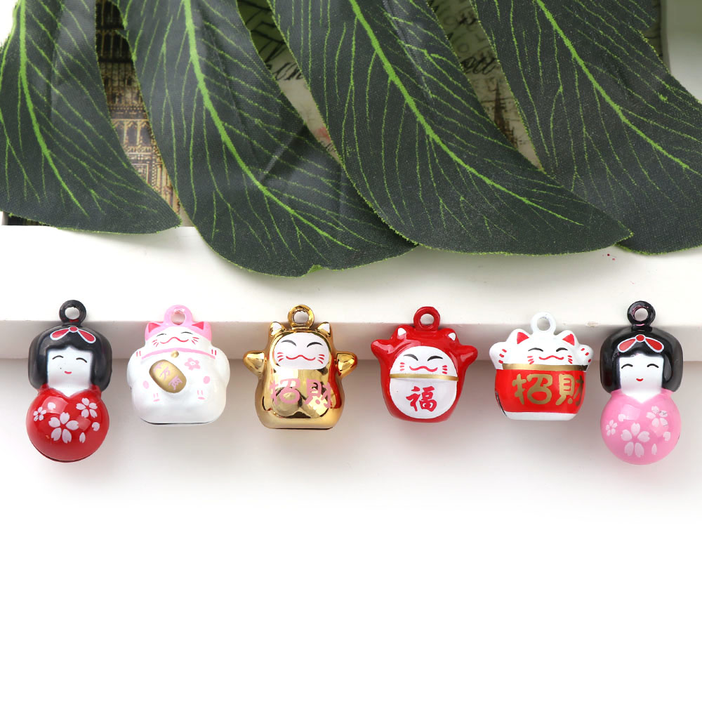 Craft Campanula Accessories Christmas Tree Hanging Jingle Bell Xmas Pendant