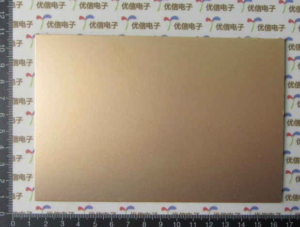 7*10 10*15 15*20 20*30CM Single-Sided glass fiber copper-clad plate single sided blue ccs foam pad by presta