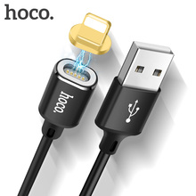 HOCO Magnetic Mobile Phone Charge Data Cable USB to Lightning Adapter Charger Magnet Cable charging for iPhone XS MAX 6 8 7 plus