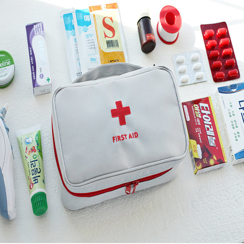 Safe Outdoor Wilderness Survival Travel First Aid Kit Camping Hiking Medical Emergency Treatment Pack Set(China)