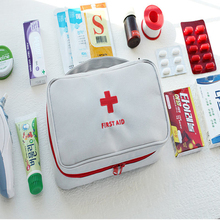 Portable Medium Empty Household Multi-Layer First Aid Kit Pouch Outdoor Car Bag Survival Medine Travel Rescue
