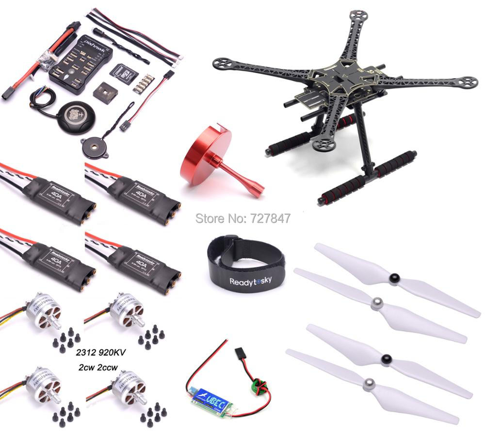 S500 Multi-Copter Quadcopter PCB Kit Pixhawk PX4 PIX 2.4.8 32 Bit Flight Controller M8N GPS 2312 920kv Motor Super combo pixhawk flight control px4 2 4 8 new 32 bit m8n gps kit for uav multi axis fixed wing drone f22159