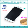 100% Test New For samsung galaxy s4 gt-i9500 i9505 i337 lcd display Touch Screen with Digitizer assembly with frame
