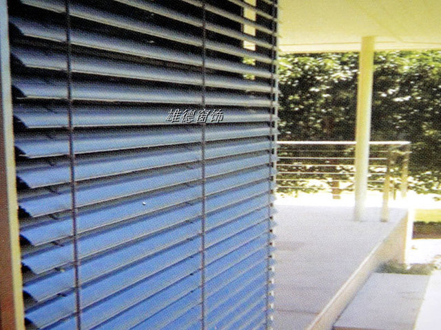 Xd Outdoor Blinds Sunshade Curtain Electric Shutter Aluminum Venetian 8cm Special