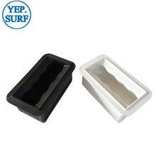Surf Handles Black/White Plastic Padddle Board