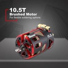 Rocket 540 10.5T Brushed Motor Sensorless Brushless Motor for 1/10 ON/Off-Road Rock Crawler Climbing Drift Touring RC Car surpass hobby 540 80t 13t 17t 21t 23t 27t 35t brushed motor for 1 10 off road rock crawler climbing rc car parts brushed motors