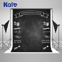 Kate Back To School Chalkboard Photography Backgrounds  Studio Photo Backdrops Blackboard Photoshoot Background2018 New Arrival