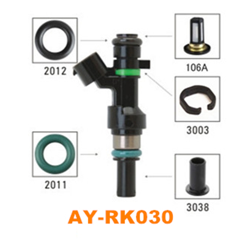 4 pieces/set fuel injector repair kit for FBY1160/16600-ED000 FOR NISSAN TIIDA-Nissan Versa for AY-RK030